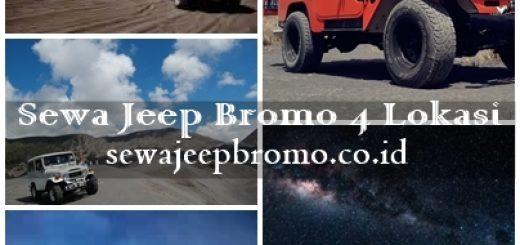 Sewa Jeep Bromo 4 Lokasi