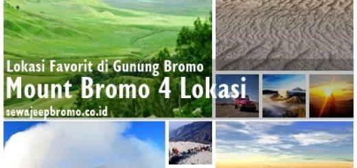 Liburan Bromo 4 Lokasi